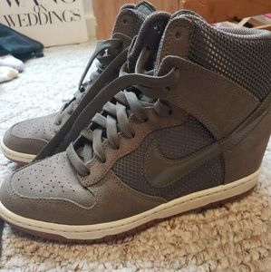 Nike Limited addition platform sneakers